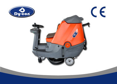 Two Brushes Ride On Floor Scrubber Dryer Semi Automatic High Performance